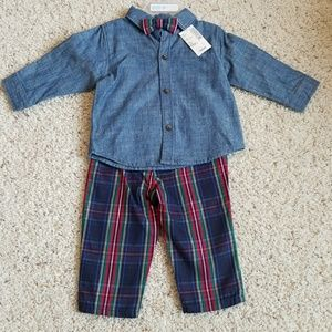 The Children's Place Boy Outfit 6-9 Months NWT